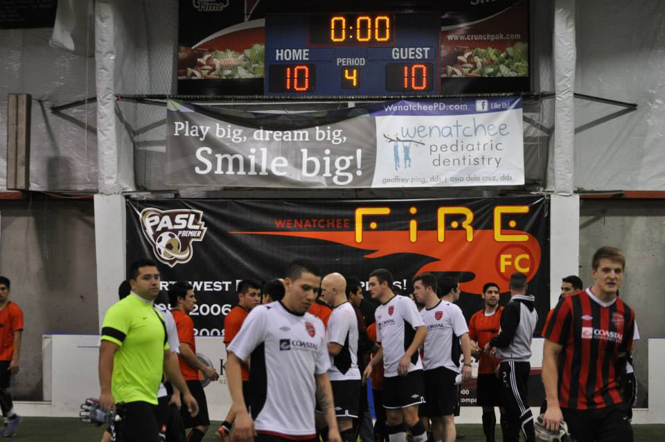 Wenatchee and Arlington drew 10-10 last year. Now they face off in both sides' WISL debut on November 15 in Arlington.