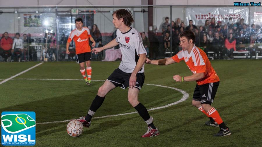 WISL men's indoor soccer Wenatchee at Arlington