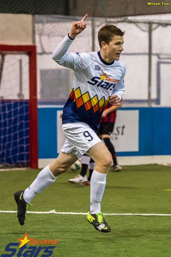 Derek Johnson scored four goals against Arlington on December 20 to repeat as WISL Player of the Week. (Wilson Tsoi)