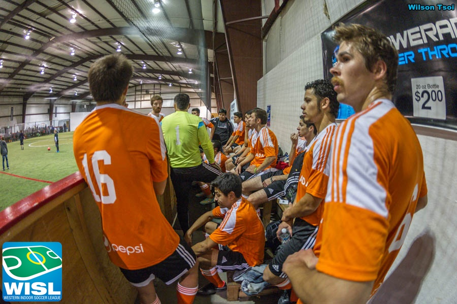WISL men's indoor soccer Wenatchee at Arlington