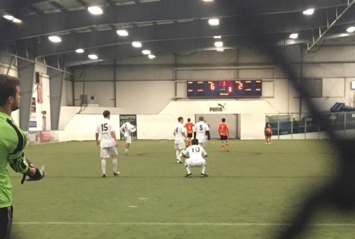 The Hammers led the Fire 6-2 at the half on Saturday in Bellingham. (Bellinghammers SC Facebook)