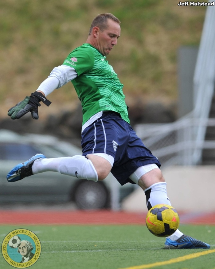 Chri Kintz plays outdoors in the Evergreen Premier League (EPLWA) for South Sound FC. (Jeff Halstead)