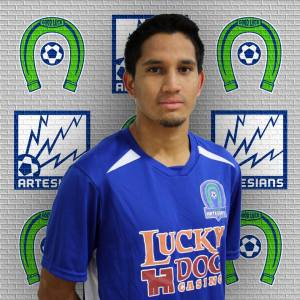 Sebastian Lyons scored twice for Oly to be named Co-Player of the Week in the WISL.
