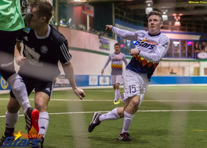 #15 Mark Lee of the Tacoma Stars has been named the WISL Final Offensive MVP. (Wilson Tsoi)