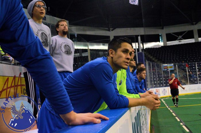 Seattle Sporting played a match at the ShoWare Center last season against South Sound FC.